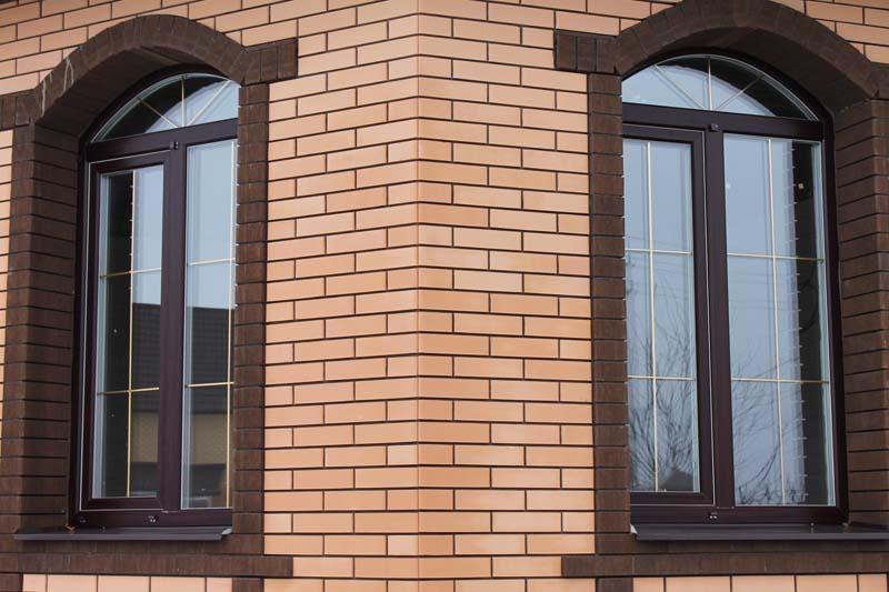Арочные окна Материал изготовления