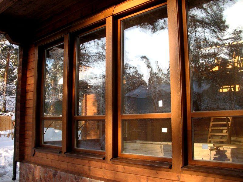 Какие окна лучше ставить деревянные окна