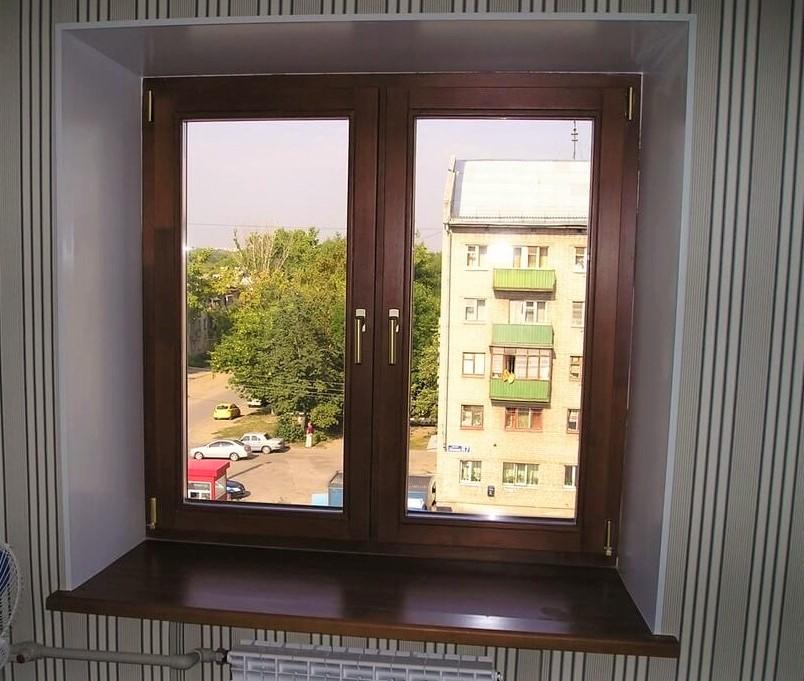 Коричневые окна особенности установки