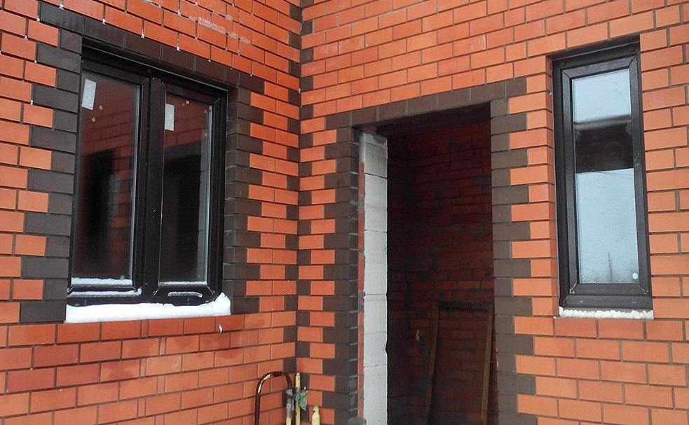 Пластиковые окна в кирпичном доме Установка