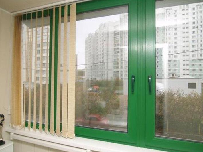 разнообразные пластиковые окна