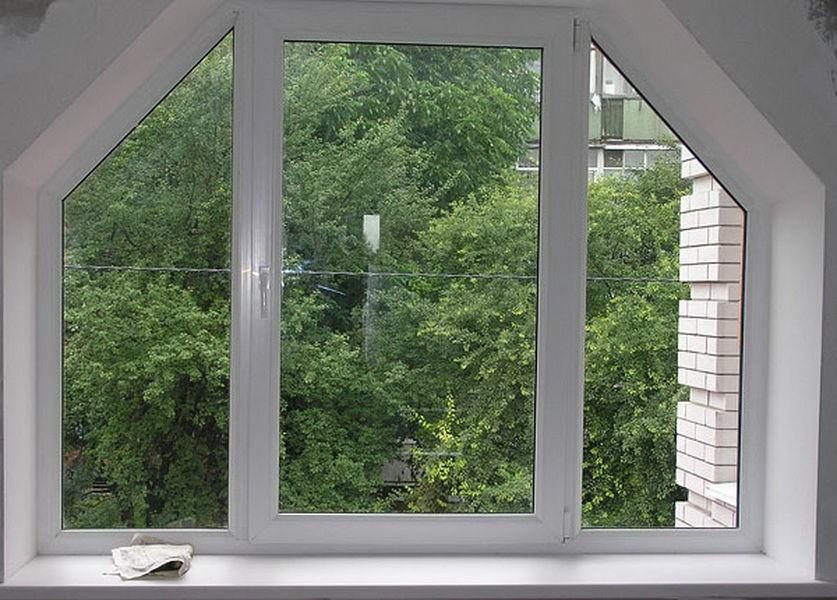 стоимость нестандартного окна